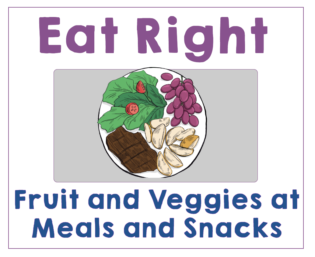 #1 Give Your Kids Fruit and Veggies at Each Meal or Snack. Health Family Habits the Pain-free way.   Get Your Kids Healthy with These Easy- Peasy Habits   Real Healthy Habits   www.realhealthyhabits.com