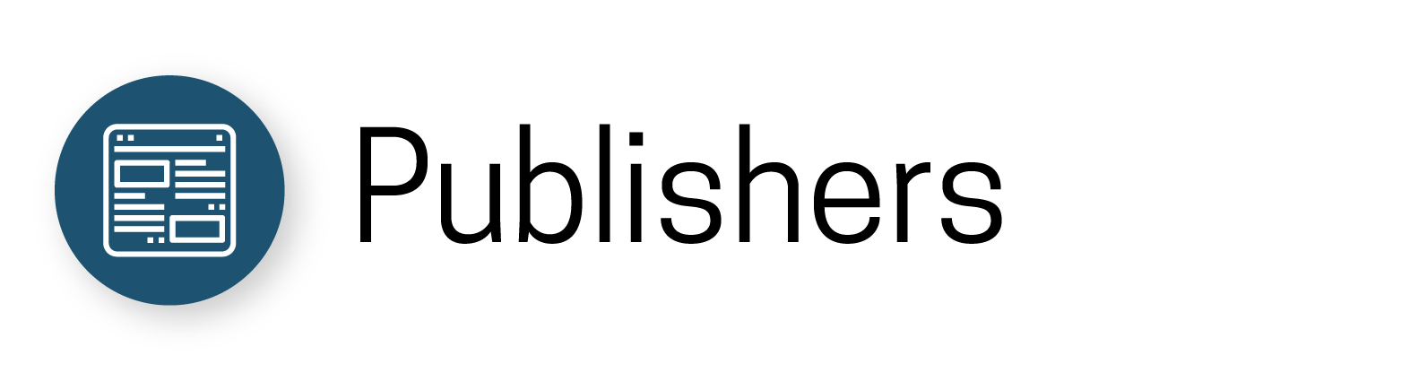 publishers icon