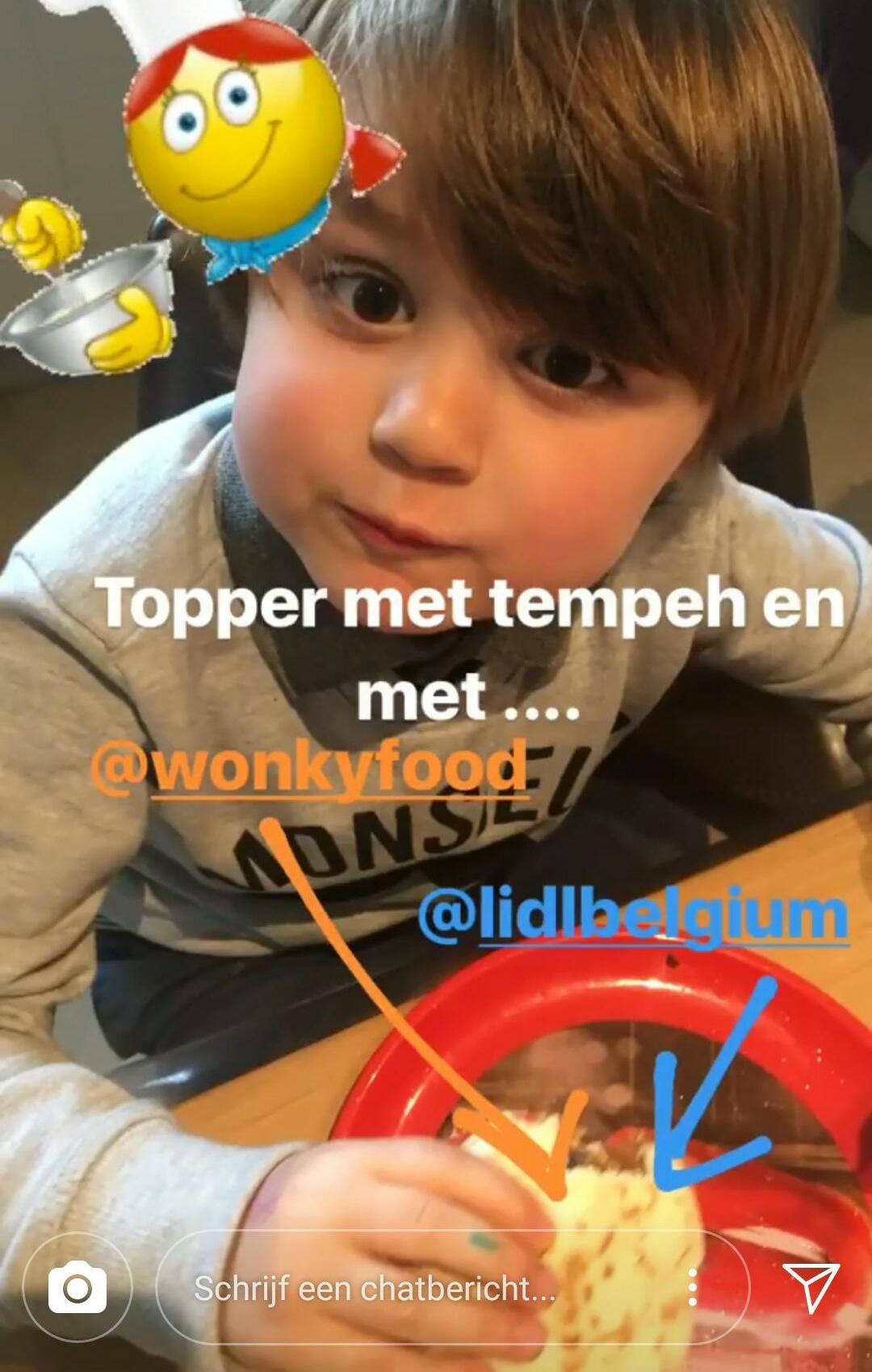 kid eats healthy fast food Wonky