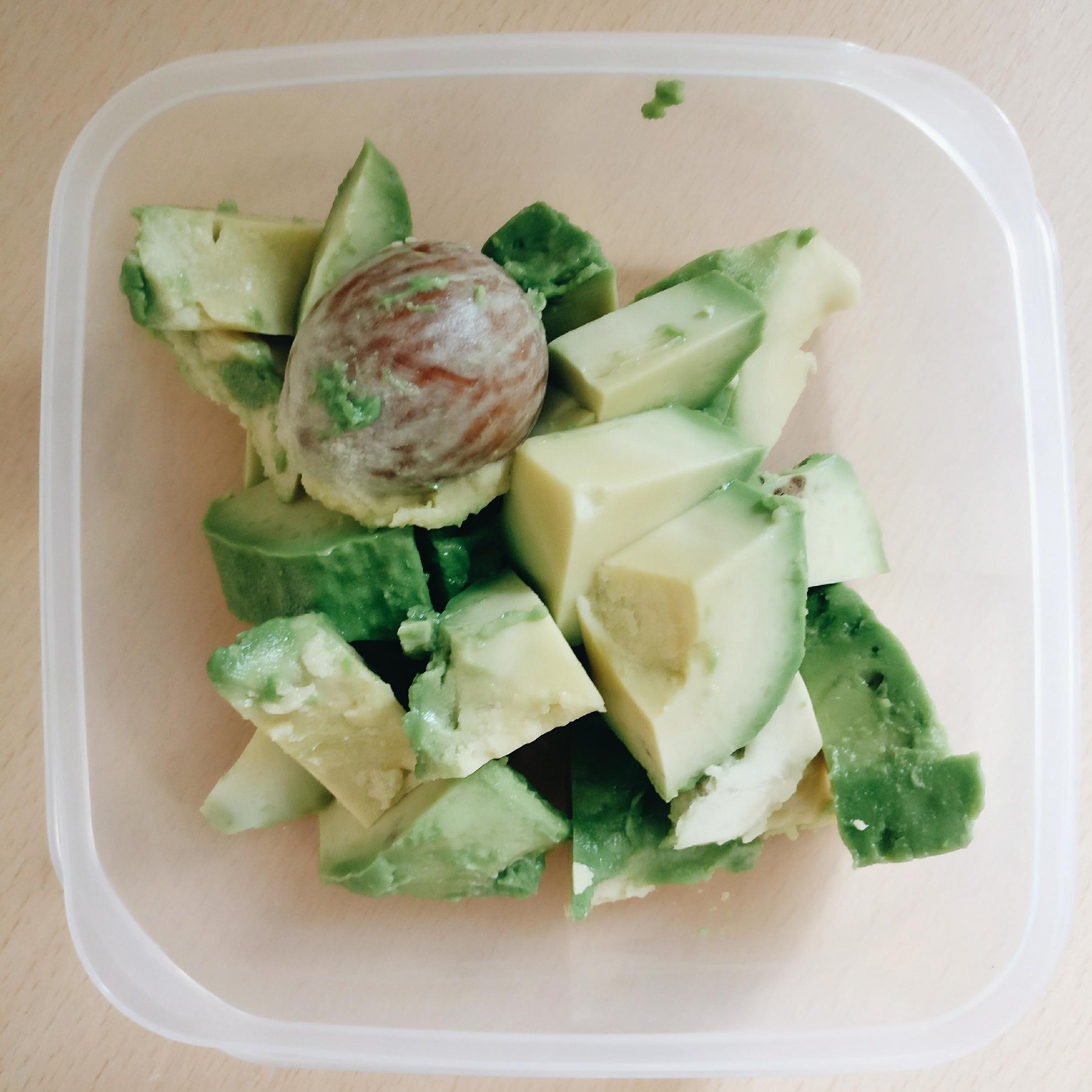 How to preserve pieces of avocado?