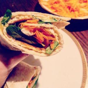 healthy wonky wrap