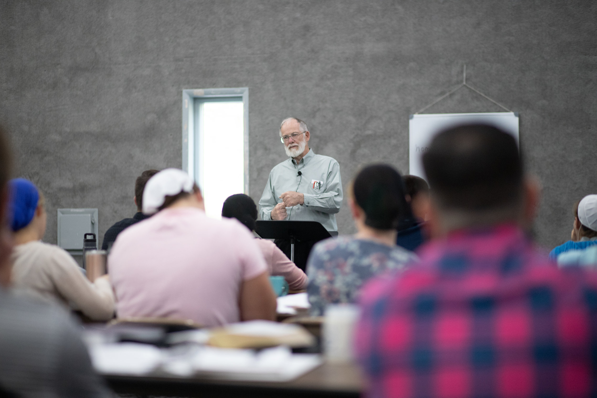 Frank Reed, teaching at a recent FOCUS training, with    Kingdom Channels