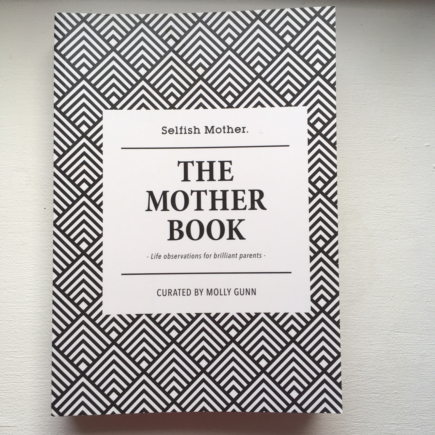 The Mother Book - Molly Gunn    This is a series of blog posts taken from the 'Selfish Mother' blog site.  It is a snapshot of essays from (mostly) new mothers, talking about their experiences. Can sometimes just be useful to hear.