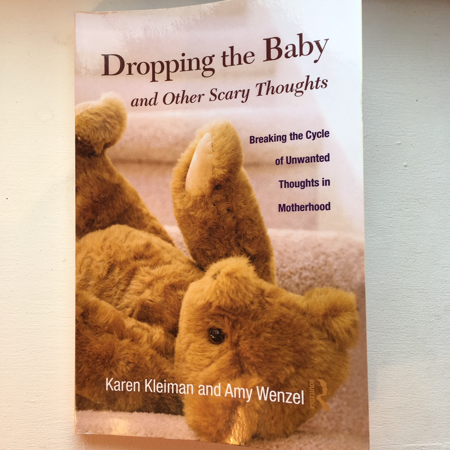 Dropping the Baby - Karen Kleinman and Amy Wenzel   A great book if you are scared about your thoughts - contains really useful and reassuring information, a good self-help section, an explanation of different treatments and also discusses what others can do to help.  If you are too scared to talk to someone about how you are thinking, I'd recommend reading this first.