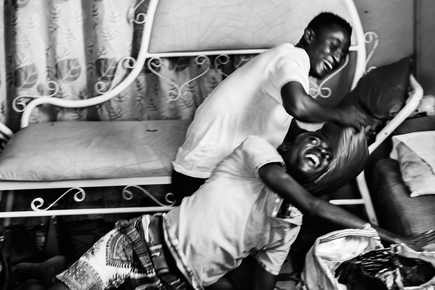 Untitled 1, from the series 'Just like us'. Eric Gyamfi