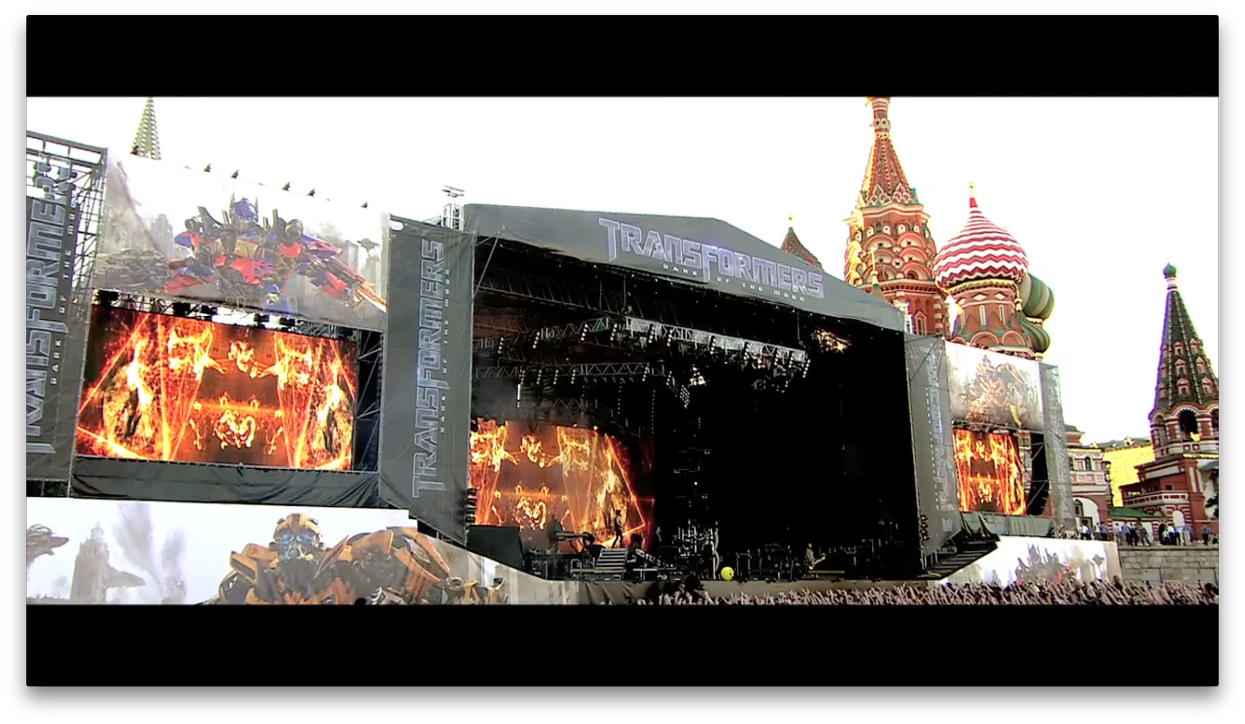 """LINKIN PARK LIVE PERFORMANCE  """"TRANSFORMERS III"""" MOVIE LAUNCH  FOR PARAMOUNT PICTURES  MOSCOW"""