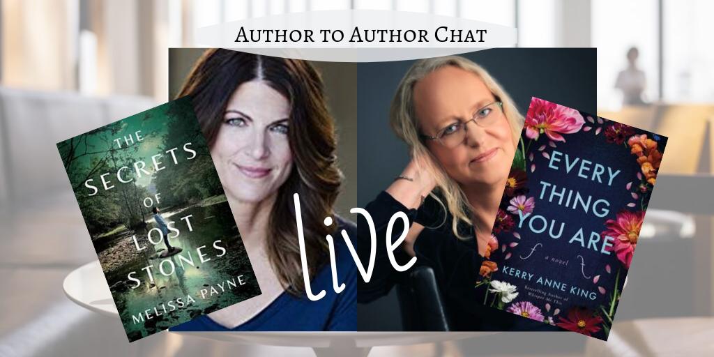 Author to Author chat LIVE on Facebook