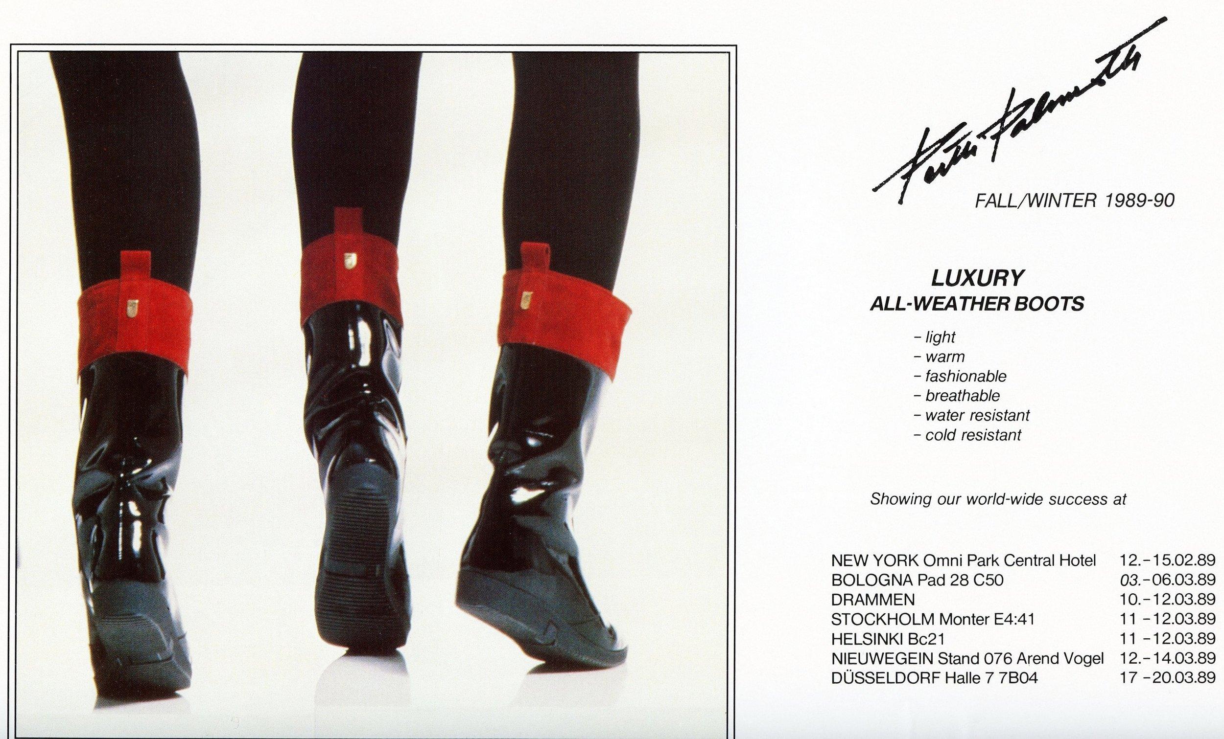Palmroth -messukutsu vuodelta 1989.