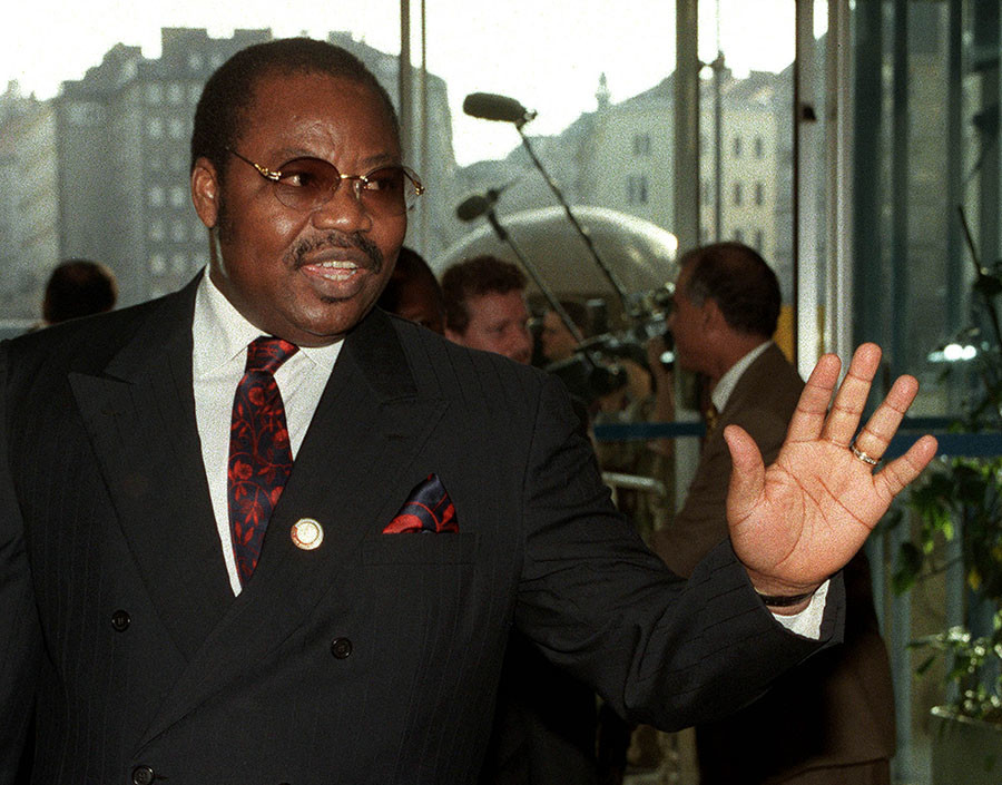 Dan Etete, Nigeria's former oil minister, 30 March, 1998 / Reuters