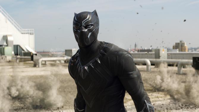 Marvel's Captain America: Civil WarBlack Panther/T'Challa (Chadwick Boseman)Photo Credit: Film Frame© Marvel 2016