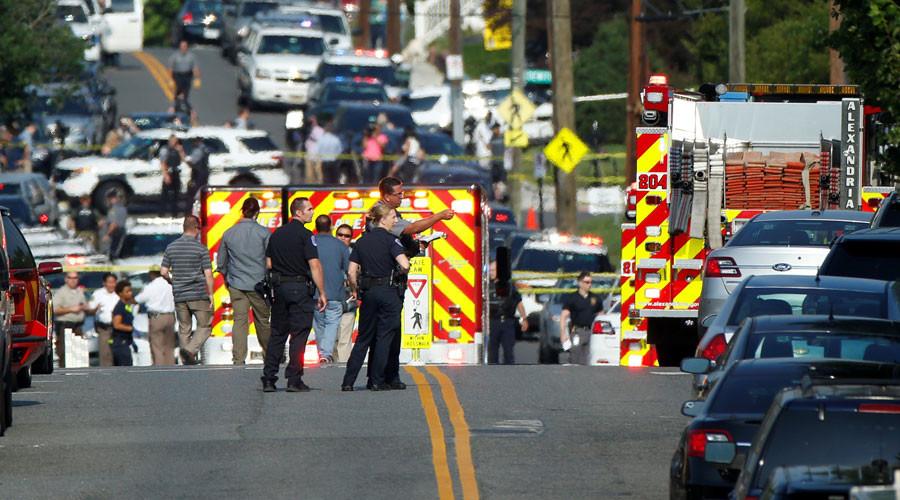 Shooter targets Republican congressmen at Alexandria baseball practice, 5 injured