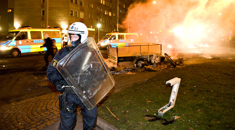 Rosengard in Malmo, Sweden. / Reuters