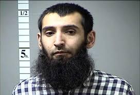 Terrorist Sayfullo Saipov.