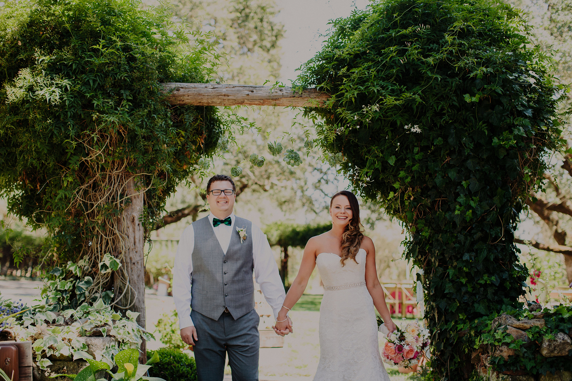 Monika + Amos Wedding: Sonoma, California