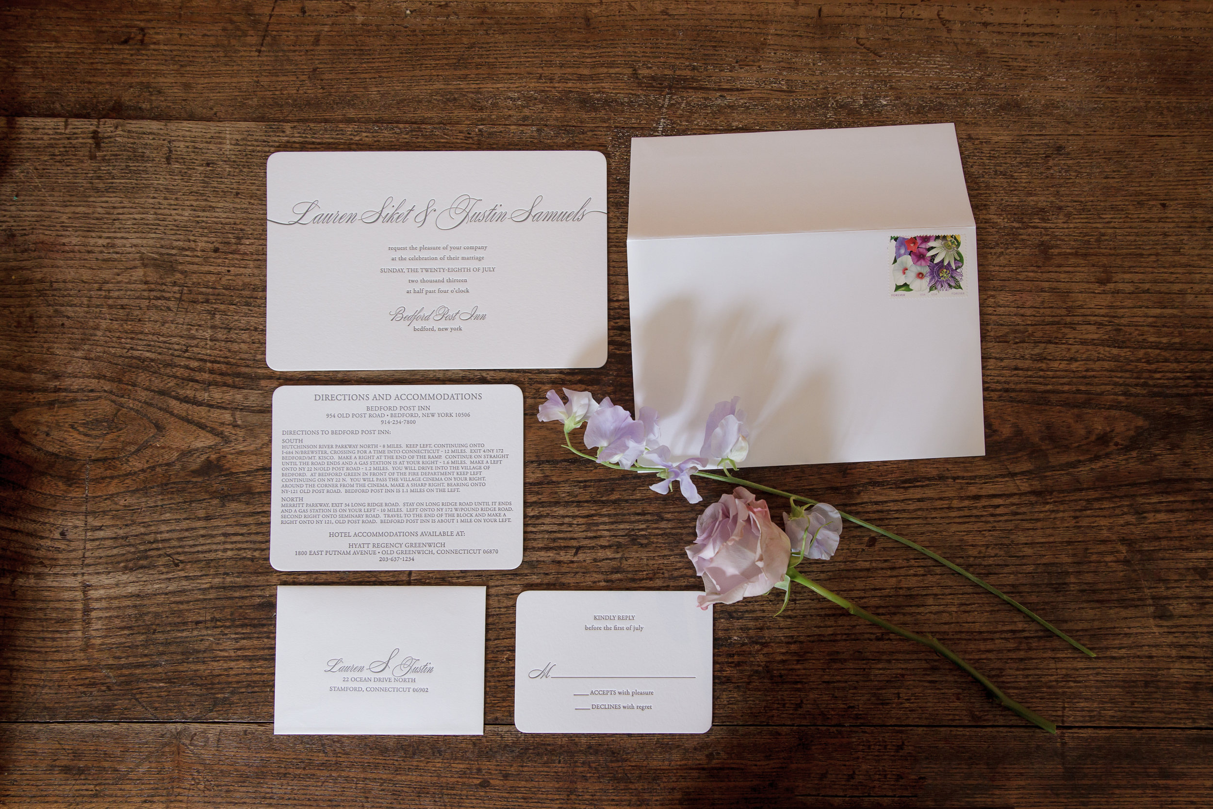 Bedford Post Inn, Westchester Wedding Reception