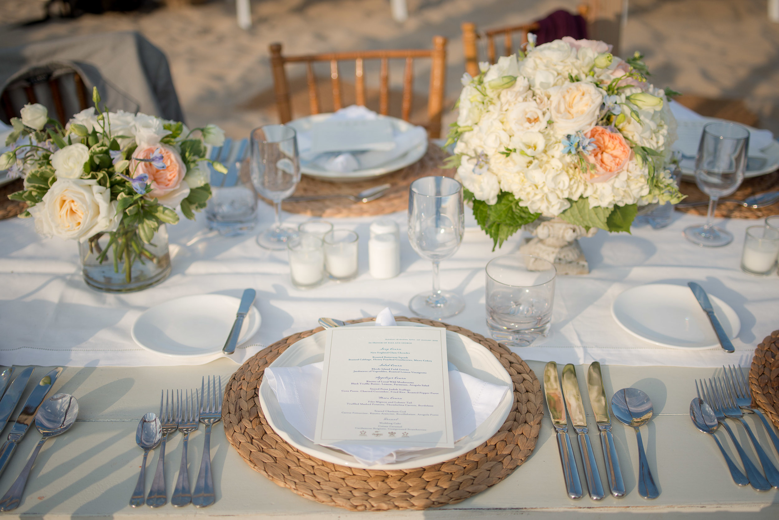 Hana Floral Design with Ashley Douglass Events, wedding planner at the Ocean House RI in Watch Hill, Rhode Island wedding