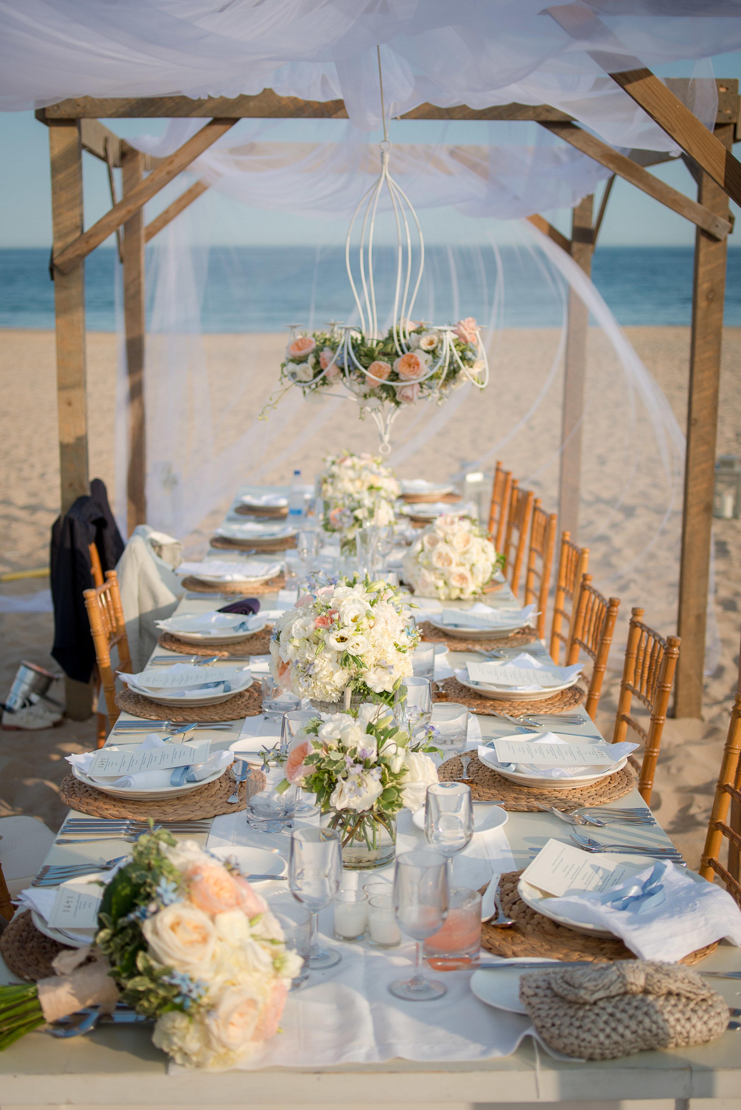 Hana Floral Design with Ashley Douglass Events, wedding planner at the Ocean House RI, Watch Hill, Rhode Island wedding