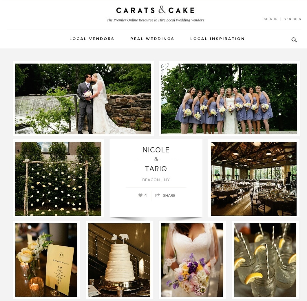 Ashley Douglass Events on Carats and Cake with Bruce Plotkin Photography.