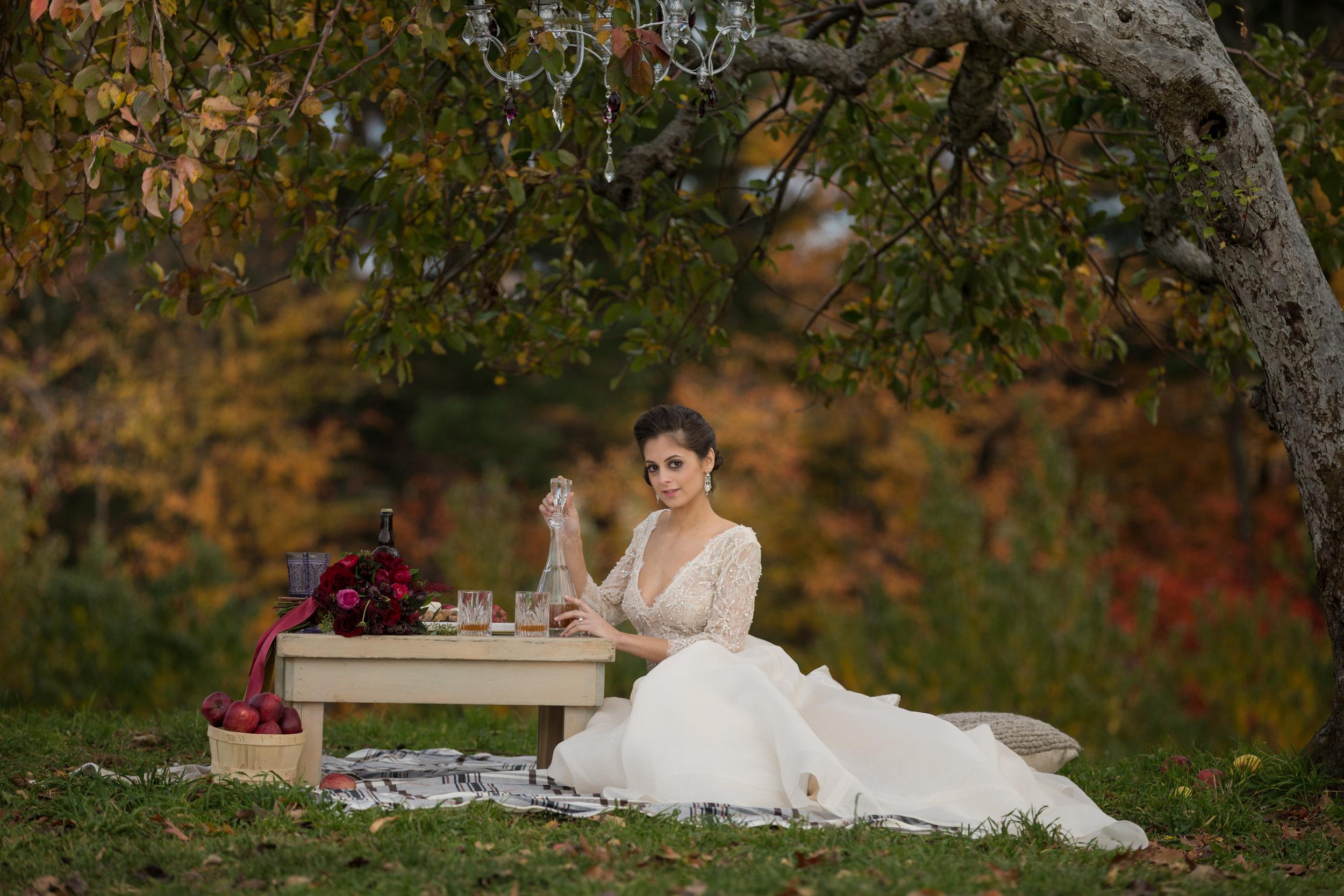 NYC Wedding Planner Ashley Douglass Events at Harvest Moon Farm Orchard