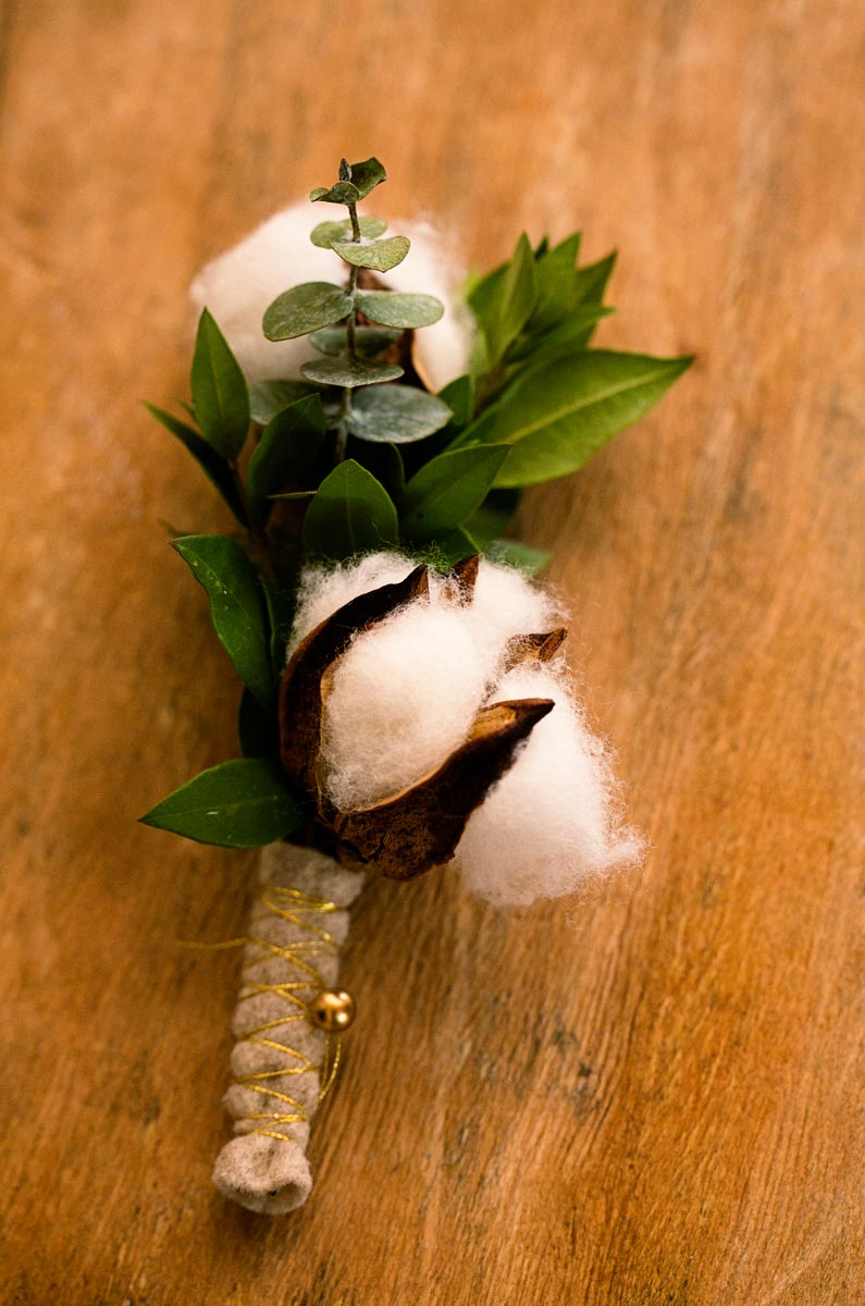 Boutonniere and Bouquet by Ashley Douglass Events at Bedford Post Inn, wedding venue