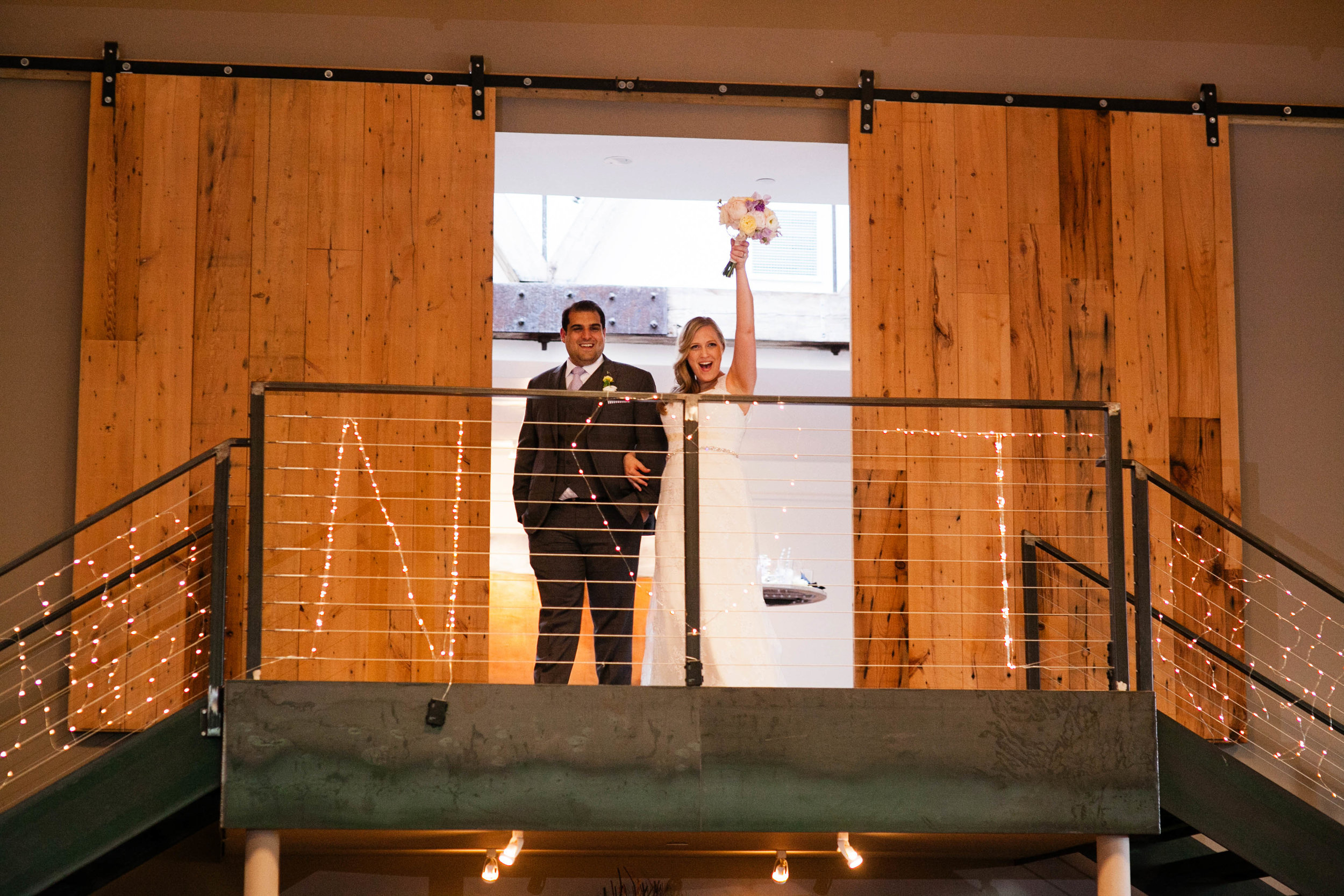 Awesome shot! Ashley Douglass Events wedding at the Roundhouse in Beacon, NY with Bruce Plotkin Photography.