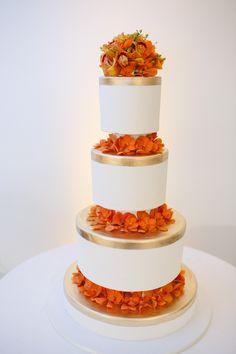 Fairfield Country Wedding Reception, Wedding Cake by Cake Suite, Westport, CT