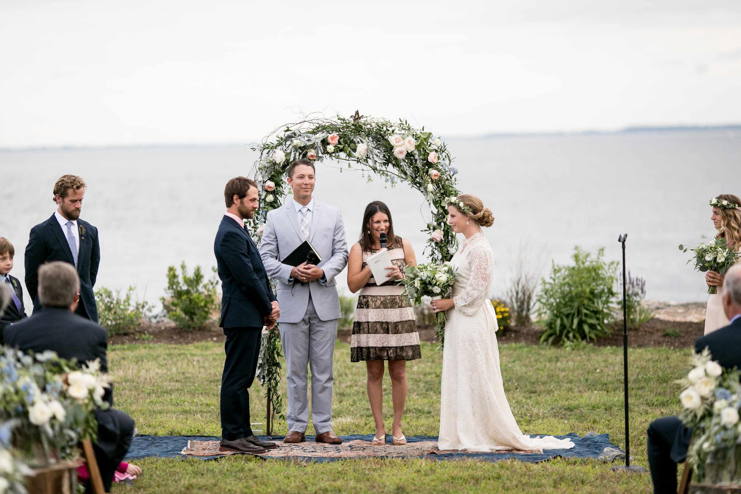 Hana Floral Design with Ashley Douglass Events. CT Shoreline Wedding in Old Lyme, CT.