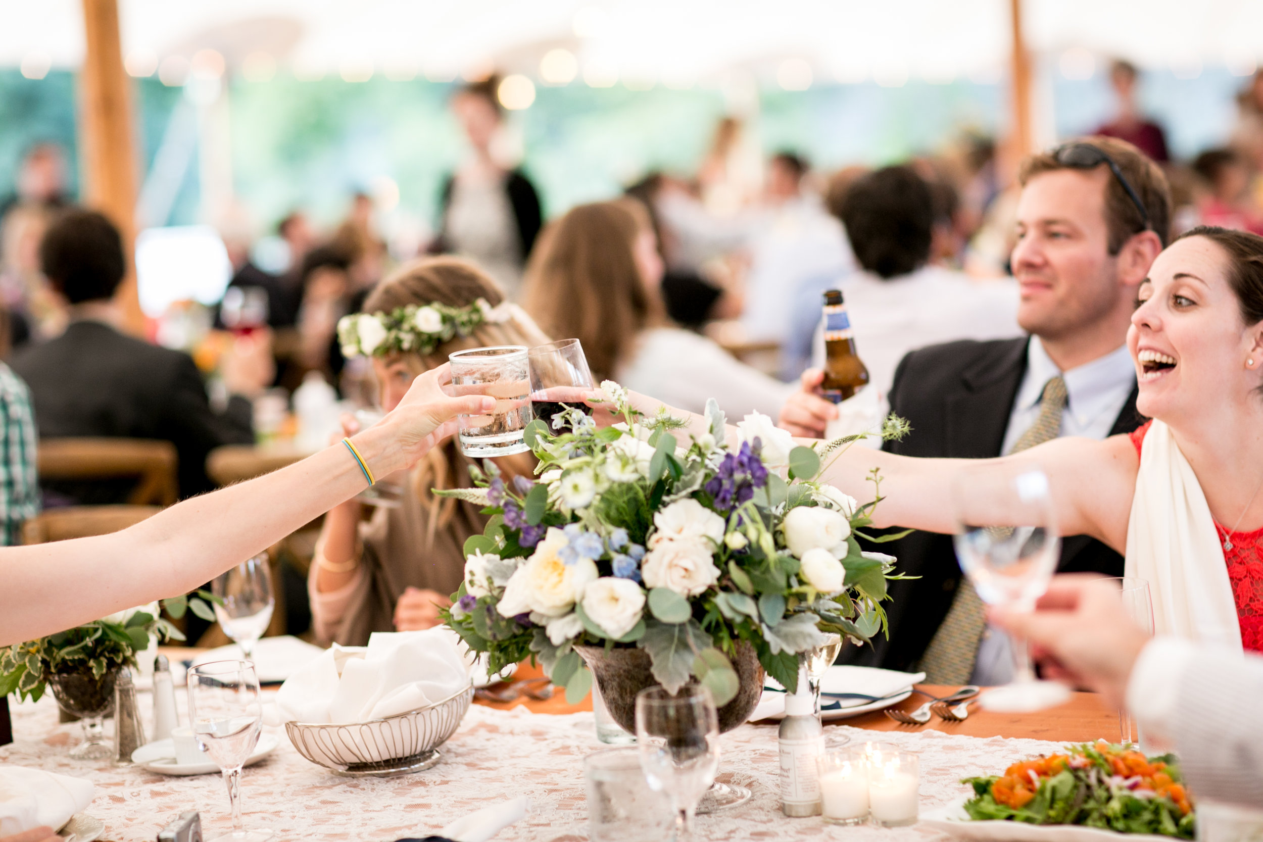 Sperry Tented CT Wedding in Old Lyme, CT.
