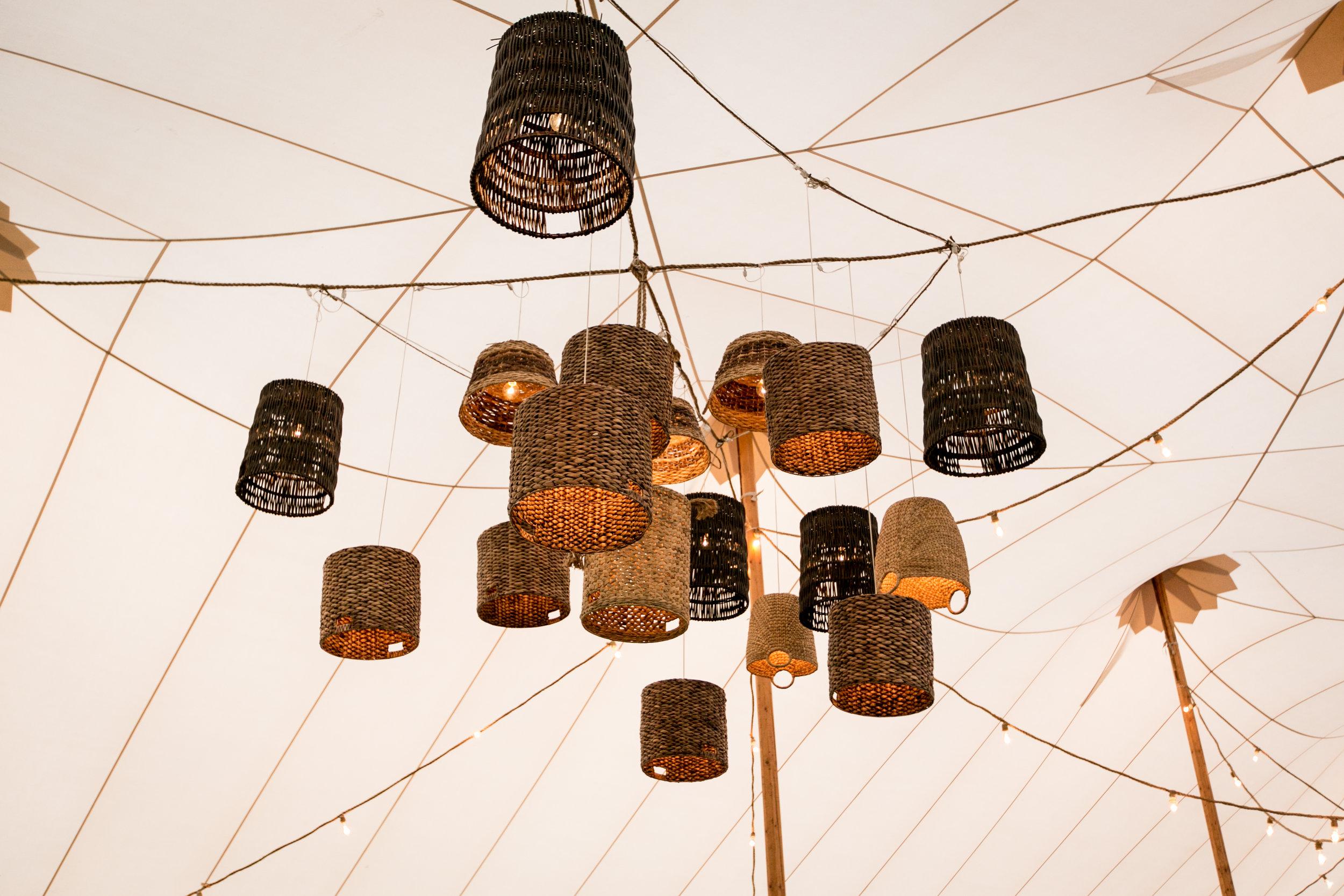 Basket Lights by Social Decor.