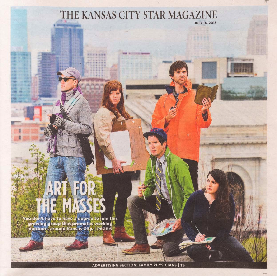 The Kansas City Star Magazine  , Cover Feature, June 2013