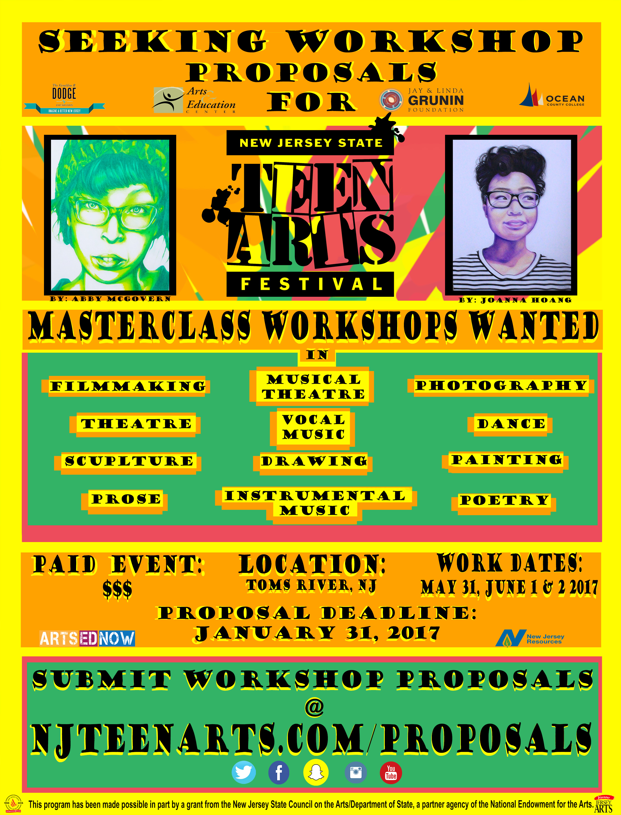 Workshops Wanted Informational Flyer