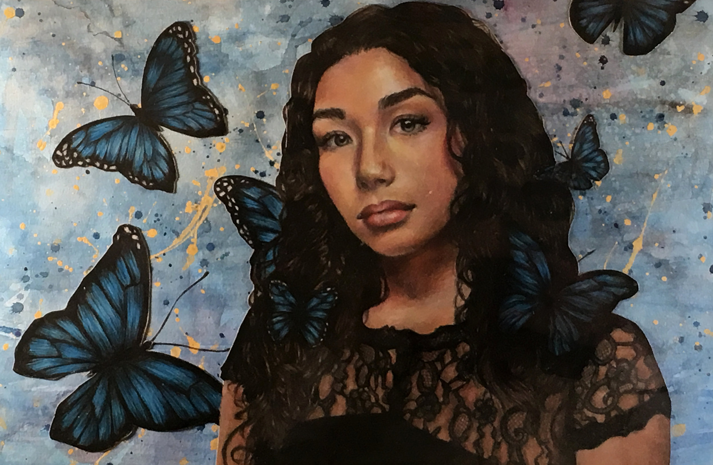 Mia Tomasino  Dream Mixed Media  Piscataway HS 18.5x25  Middlesex County