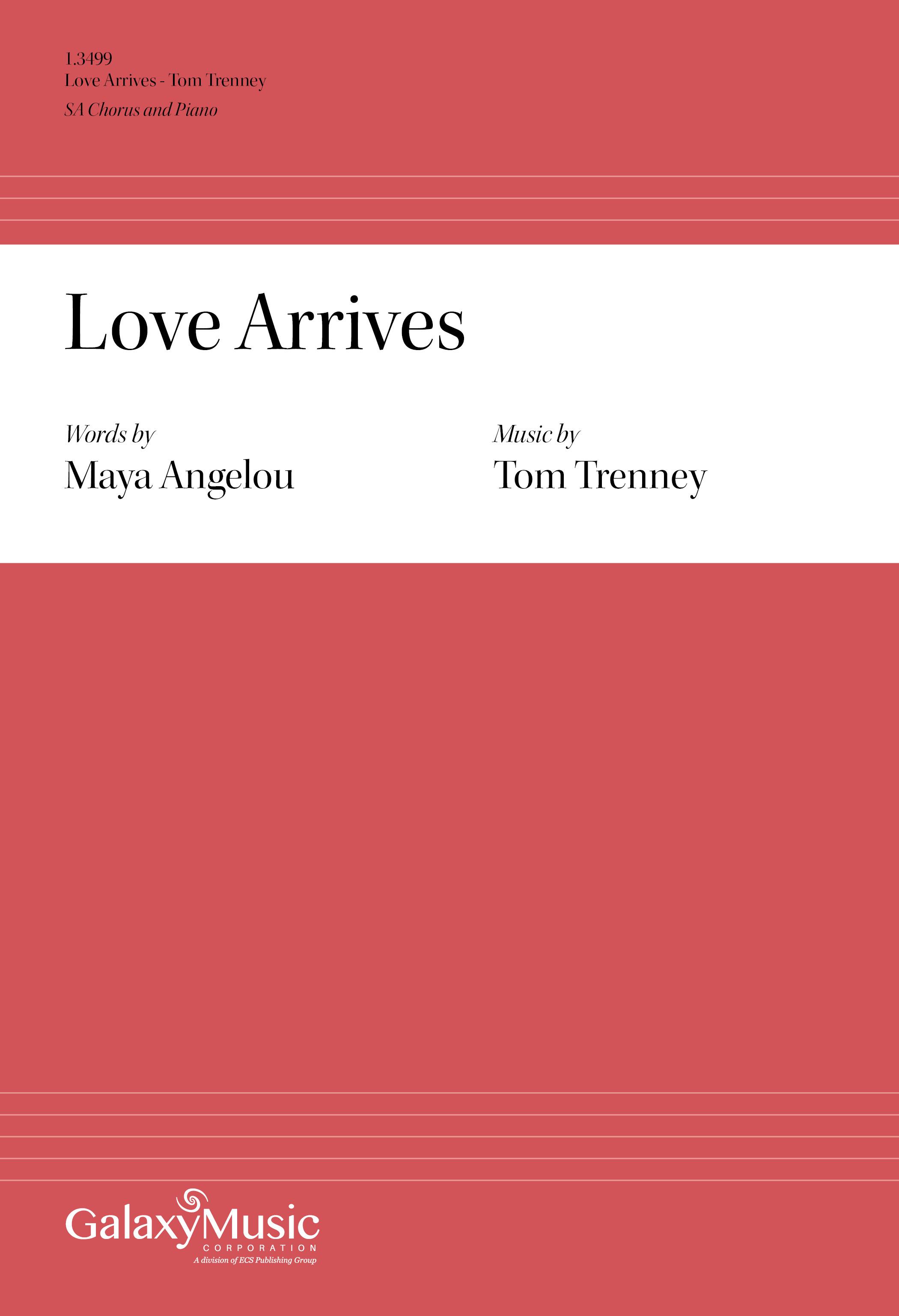 Love Arrives    Listen   Purchase