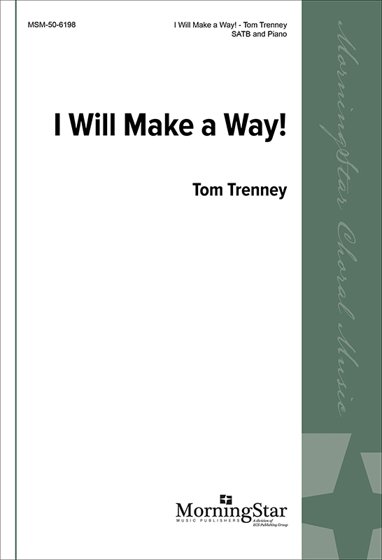 I Will Make A Way    Listen   Purchase