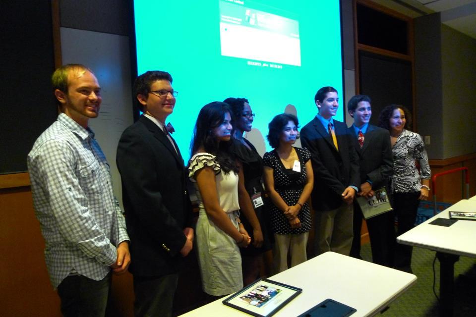 Yonatan David, Ishara Lareef, Yonatan David, Harrison Ferlauto, Joshua Solomowitz at Fox  Chase Cancer Center