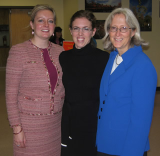 Suffolk County Commissioner, Environment & Energy, Carrie Meek-Gallagher; Film producer, Sabrina McCormick; PhD, Cancer Awareness, Department of Environment & Energy, Amy Juchatz, MPH