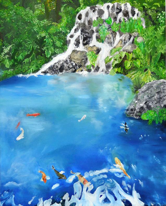 taiwan. oil on canvas. 36x24
