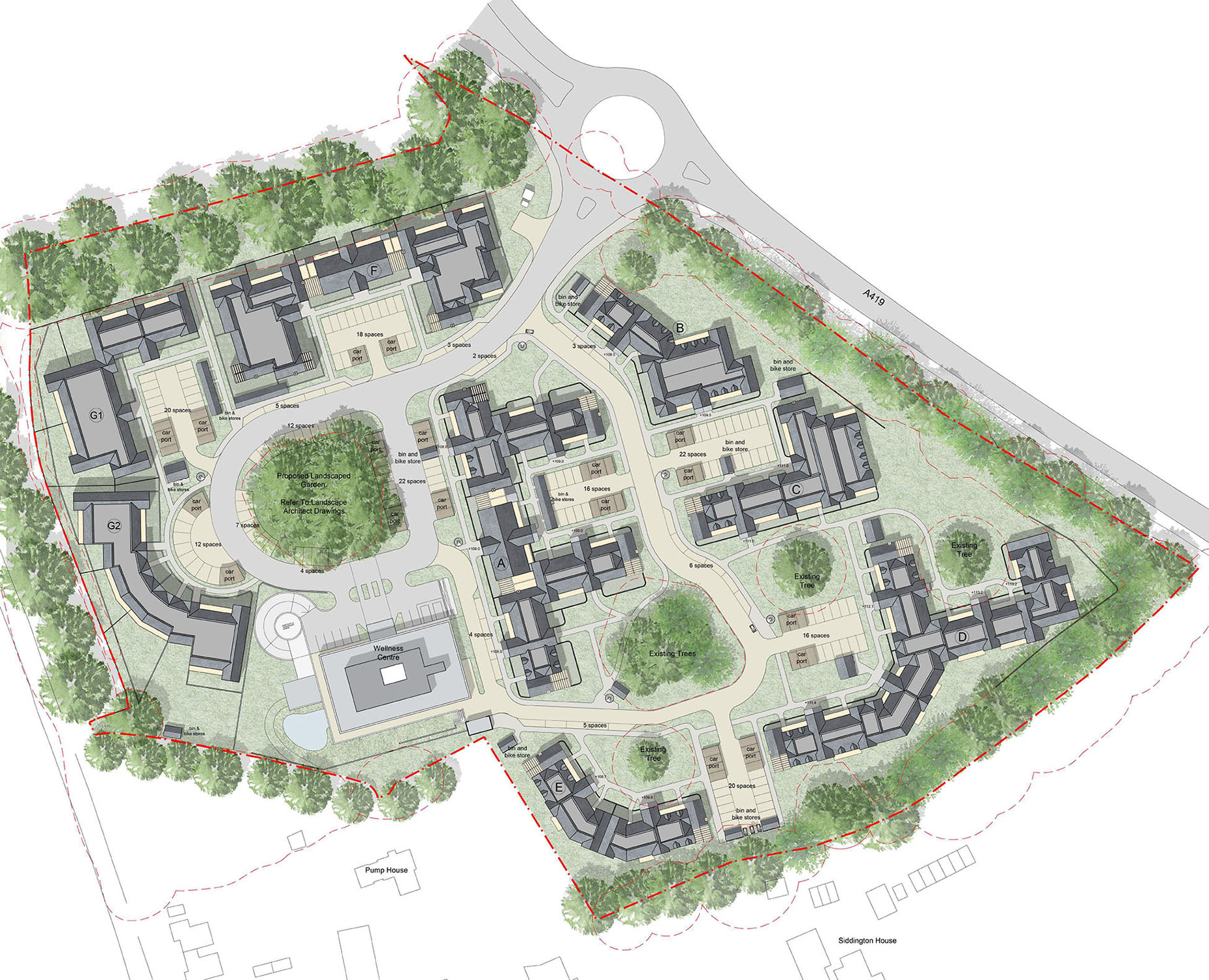 Siddington Park Farm_Site Plan_Radley House Partnership_Residential_Architecture_Cirencester.jpg