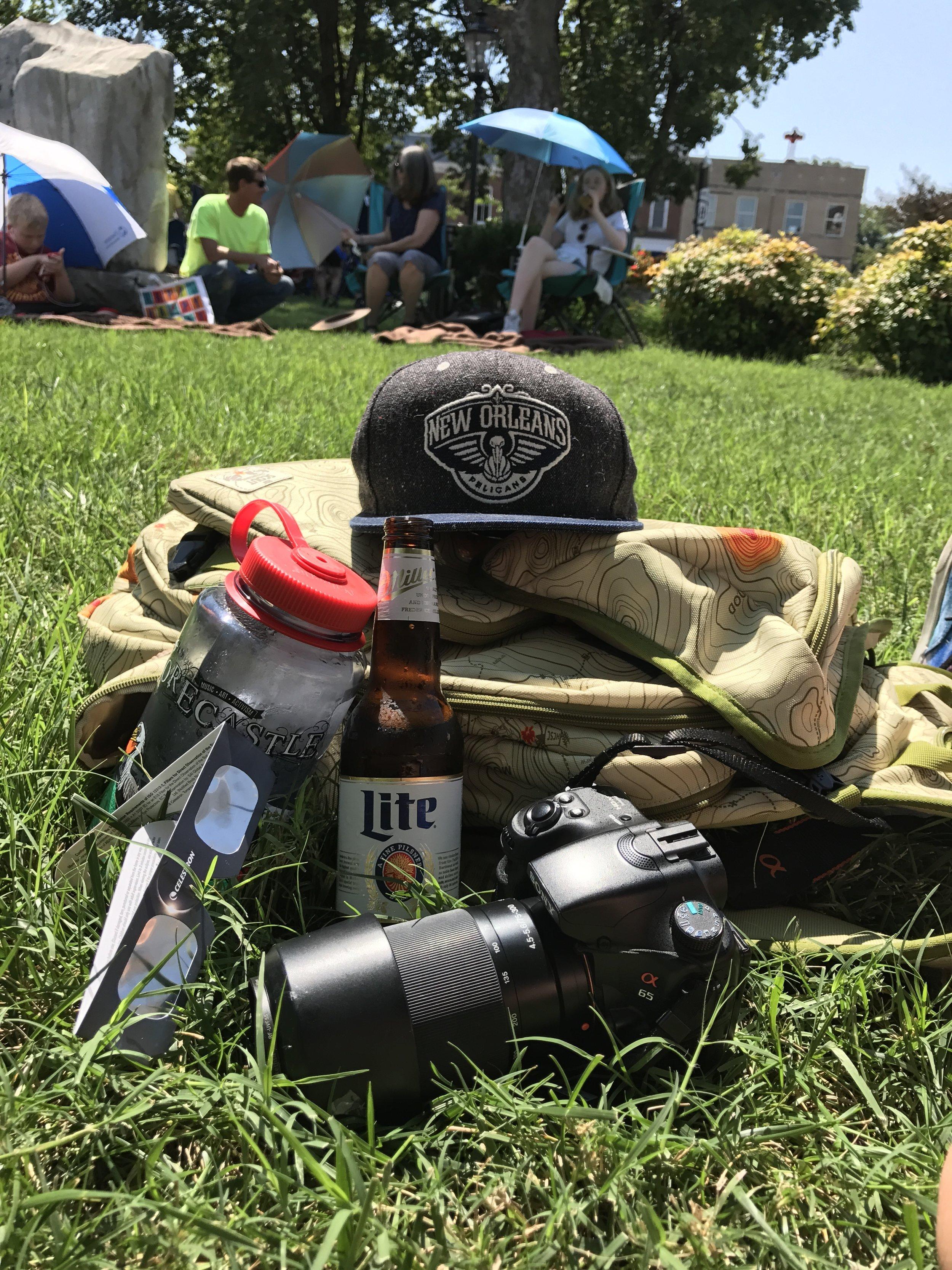 "My ""essential eclipse"" gear"