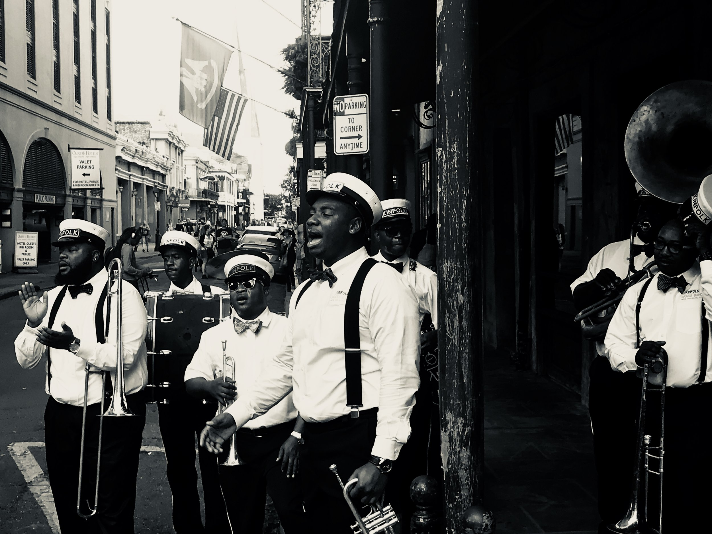 If you're lucky, you might stumble upon a second line like this one!