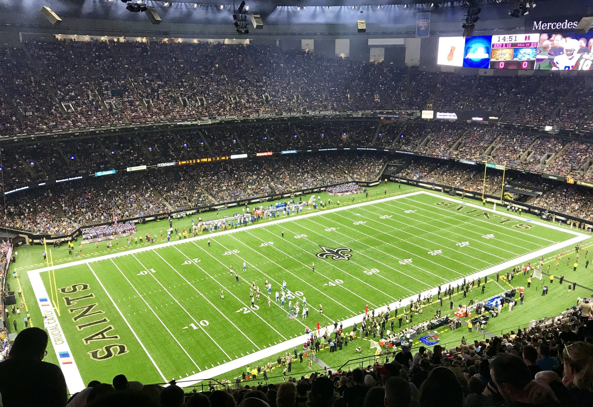 Best Things to do in New Orleans: Saints