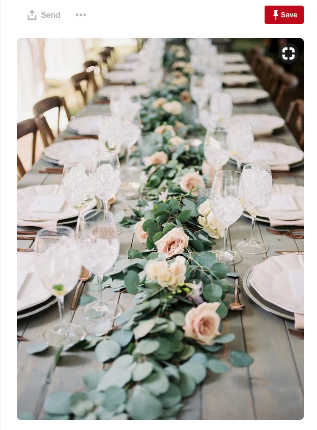 How about an arrangement of flowers, beautifully laid out almost as if they had fallen from the skies in that perfect position...
