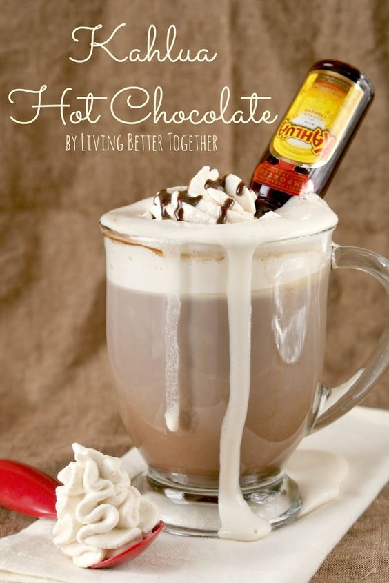 From Kahlua to Rumchata and Bailey's, a wedding hot chocolate doesn't have to be just for the kids...