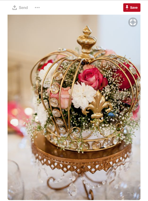 How about a royal wedding centerpiece?
