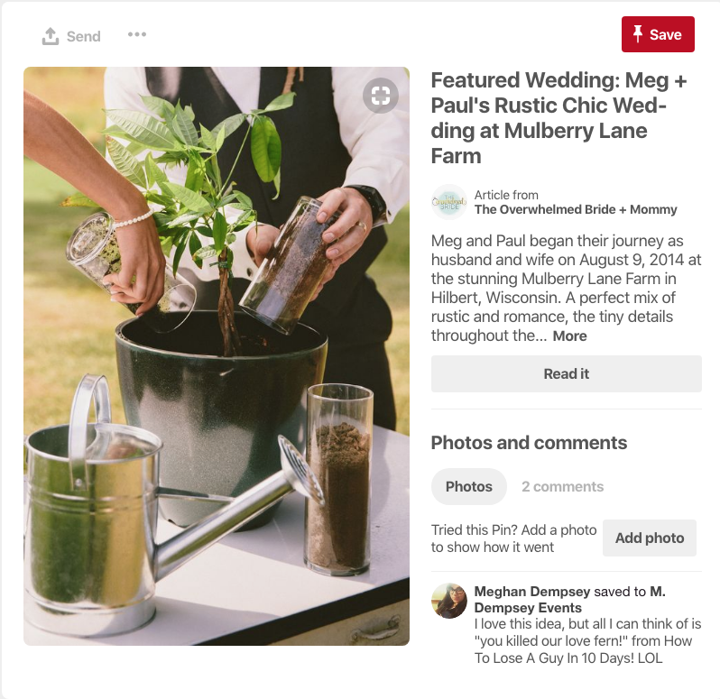 Planting a tree might be the perfect way to combine your two families, your two loves, into one. In this case, using high-end, perfectly selected accessories such as the silver pot and glass containers of soil, you can get your hands in the dirt without actually getting dirty. See more ideas here: https://www.pinterest.com/pin/247135098278589186/