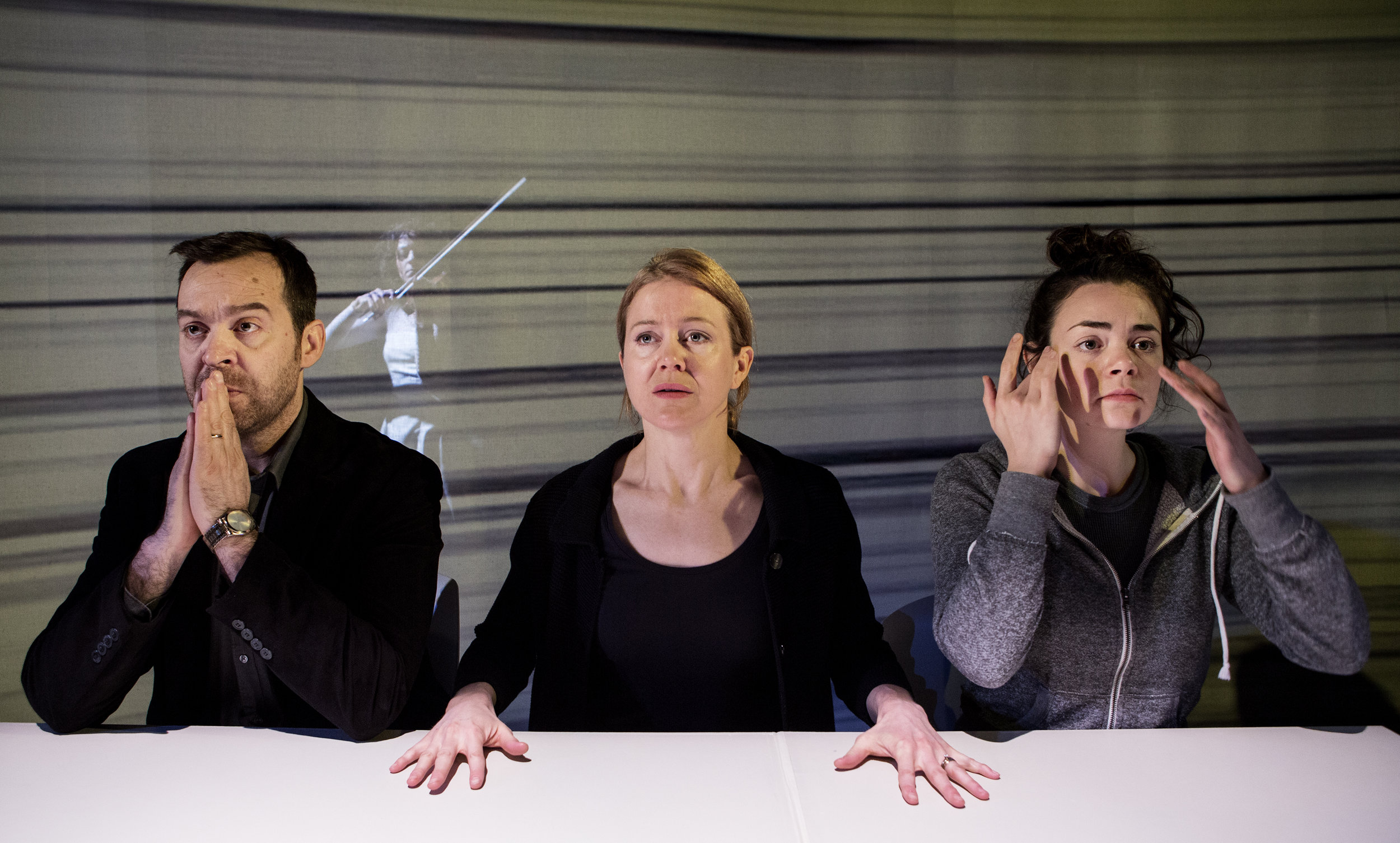 Amy Rutherford, Paul Braunstein, Haley McGee and Andréa Tyniec. Photography by Cylla von Tiedemann