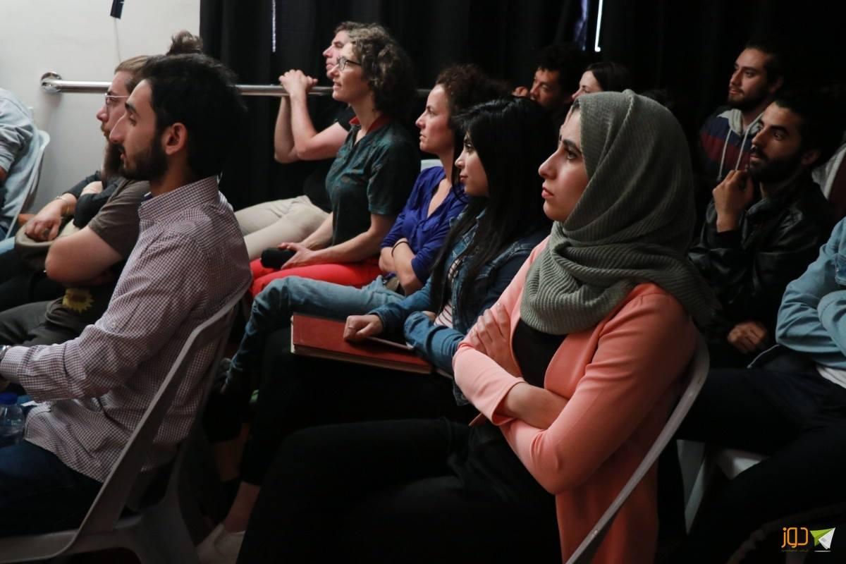 Two lady bugs Audience in Nablus.jpg