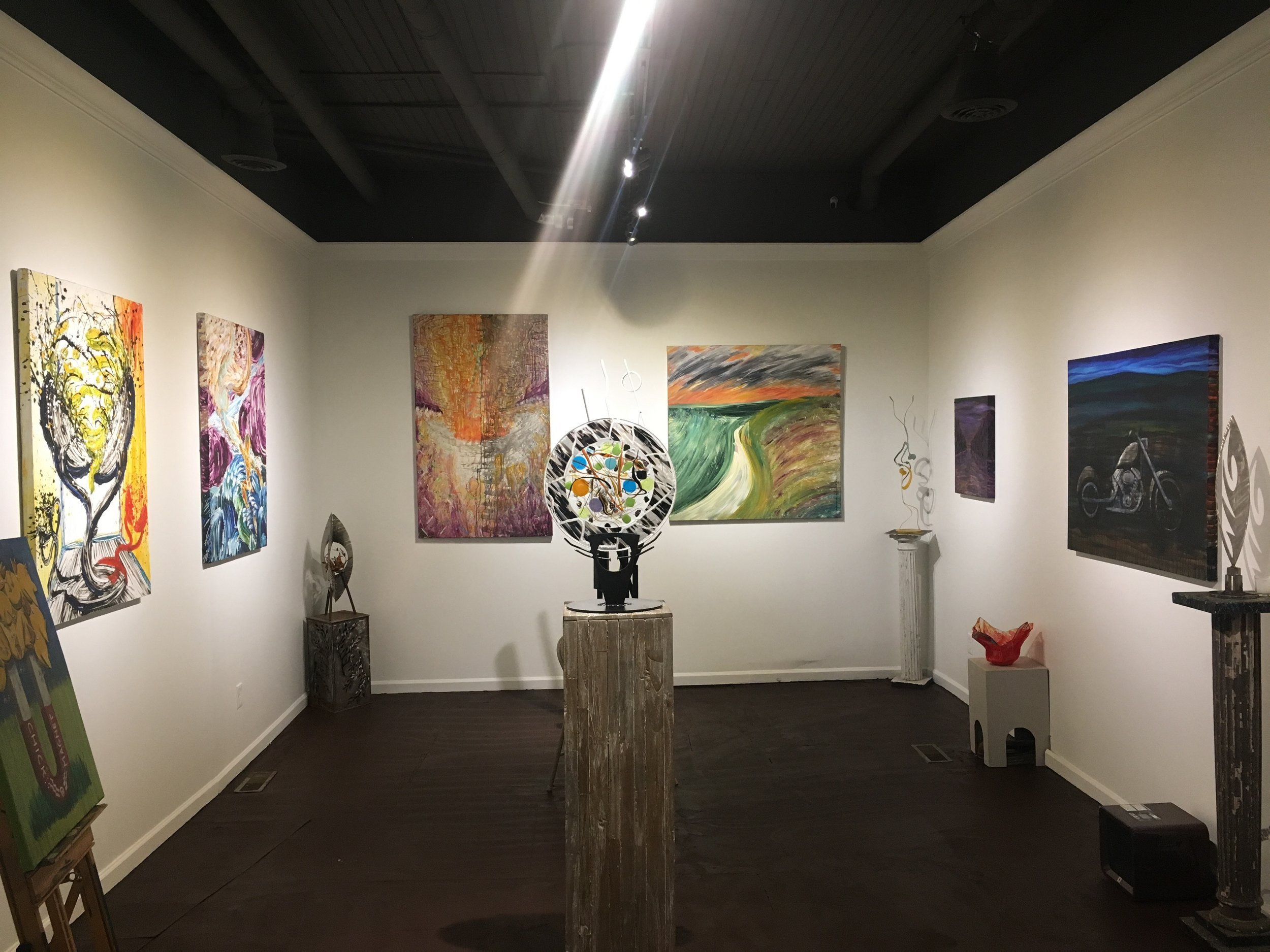 The Mark Groaning Opening Exhibit