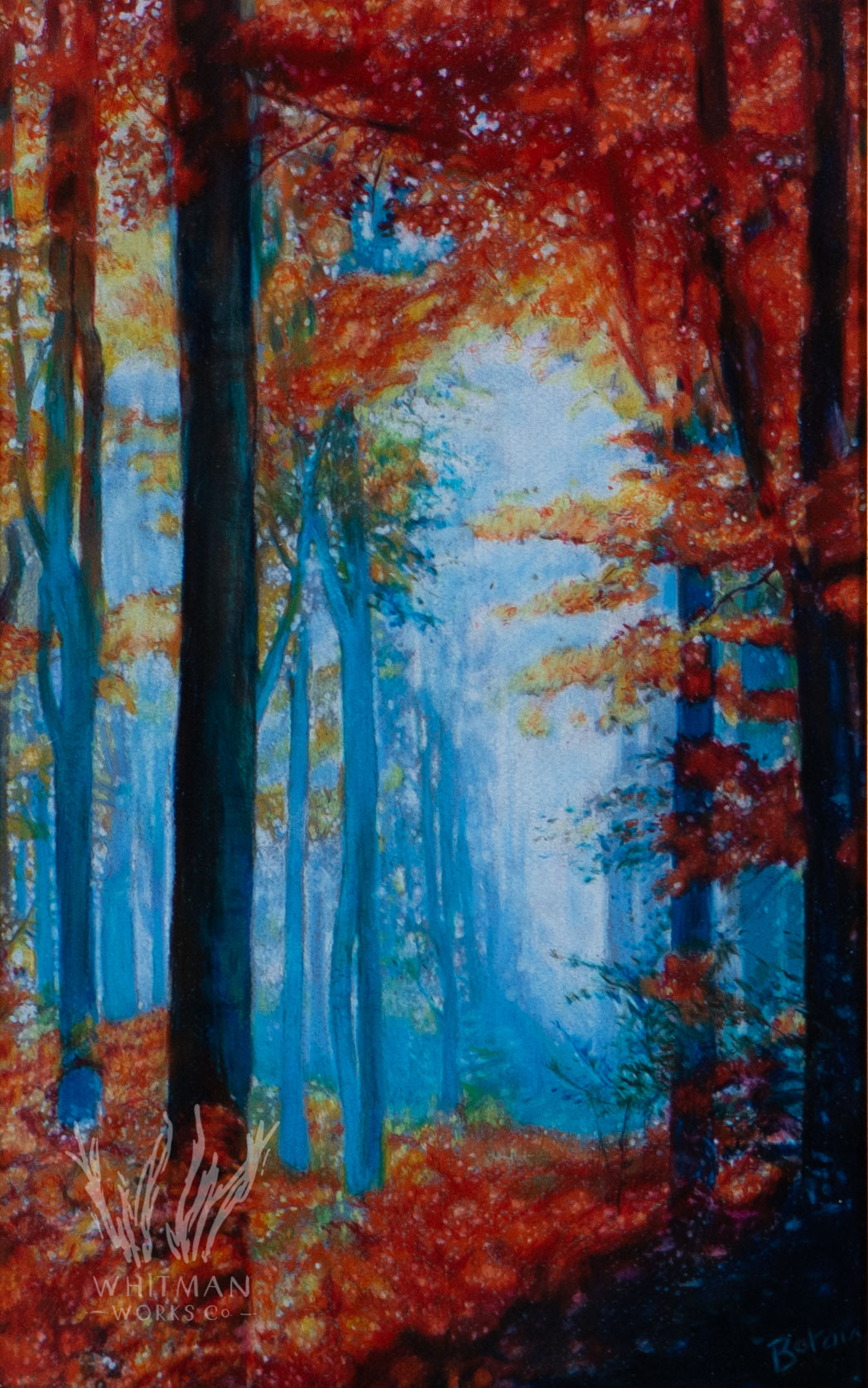 Autumn Forest by peter botsis