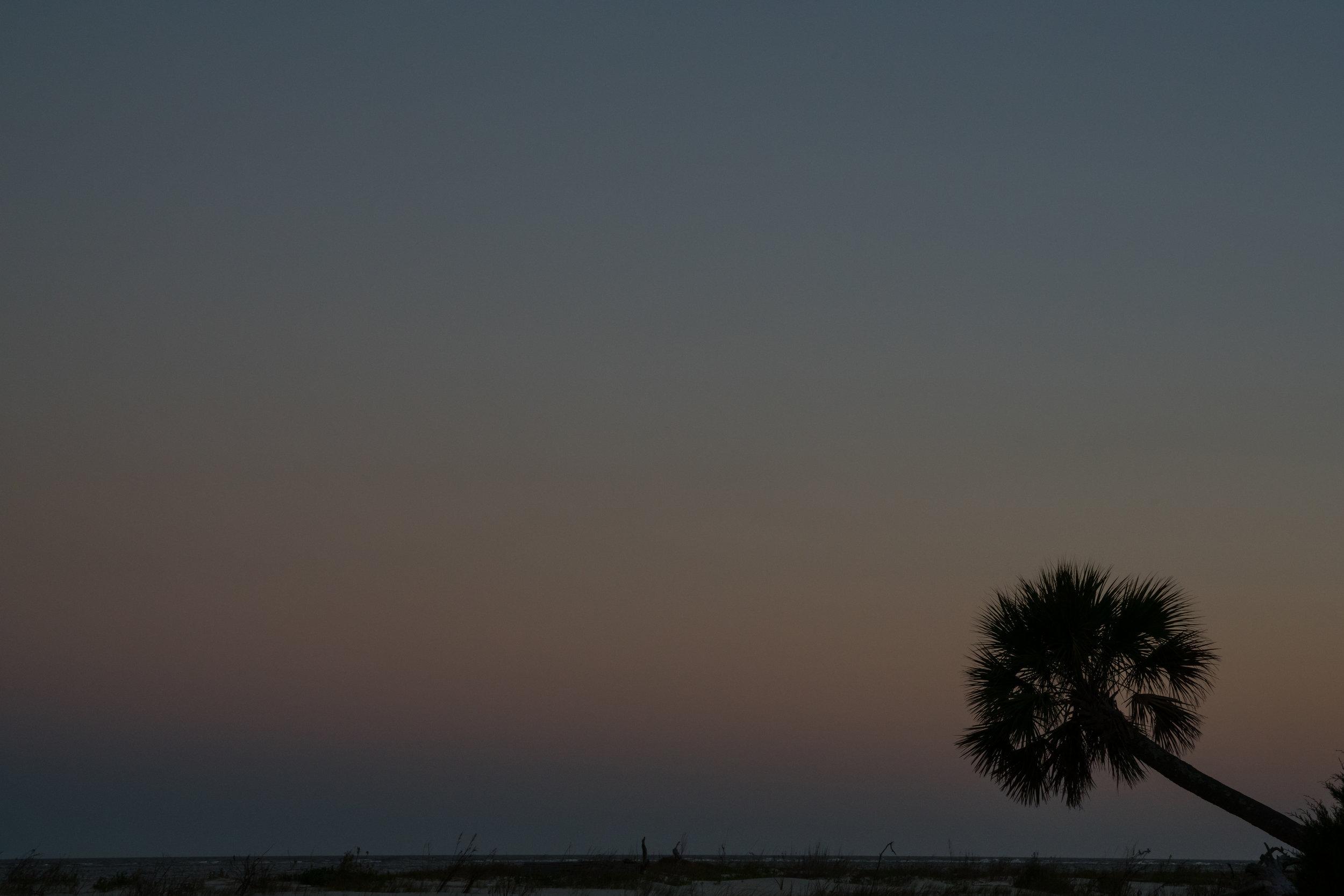 Blue hour on Little Tybee Island
